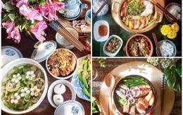 """Nấu canh bầu đơn giản, mẹ Việt ở Mỹ khiến chị em thốt lên """"có cần đẹp vậy không?"""""""
