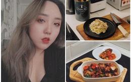 9X độc thân nấu bữa tối chỉ dưới 100 nghìn đồng, không thua kém nhà hàng Tây sang chảnh
