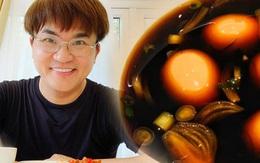 Nam MC khéo tay nhất nhì showbiz Việt làm món trứng hấp dẫn