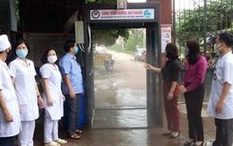 Bắc Giang: Tặng buồng phun sương khử khuẩn tại Tân Yên