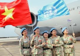 """Nữ chiến sĩ mũ nồi xanh: """"Chúng tôi đã sẵn sàng lên đường làm nhiệm vụ"""""""