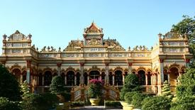 Chùa Vĩnh Tràng, công trình kiến trúc đặc sắc ở Tiền Giang