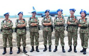 Nữ sĩ quan gìn giữ hòa bình: Cầu nối giúp xây dựng lòng tin với các cộng đồng địa phương