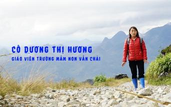 """Nữ giáo viên trẻ gieo chữ vào """"Mây"""", khởi đầu ước mơ đến trường cho trẻ em người Mông"""