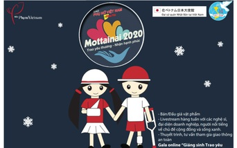 """Còn 12 ngày nữa tới Gala trực tuyến """"Giáng sinh Trao yêu thương - Nhận hạnh phúc"""" Mottainai 2020"""