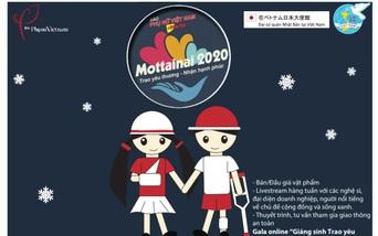 """Còn 9 ngày nữa tới Gala trực tuyến """"Giáng sinh Trao yêu thương - Nhận hạnh phúc"""" Mottainai 2020"""