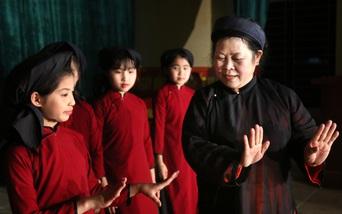 Bảo tồn di sản văn hóa hát Xoan, nghệ nhân Phú Thọ được trao tặng Giải thưởng Phụ nữ Việt Nam