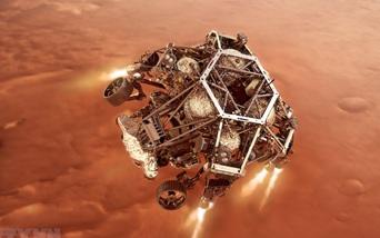 NASA công bố đoạn ghi âm và video đầu tiên gửi về từ Sao Hỏa