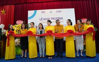 Khai trương văn phòng OSSO hỗ trợ phụ nữ di cư hồi hương thứ tư trên cả nước tại Hải Phòng
