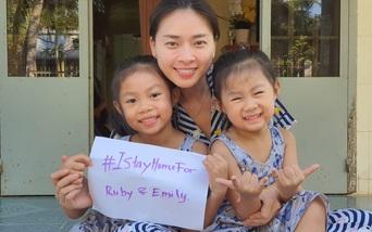 Sao Việt kêu gọi người dân ở nhà để hạn chế dịch Covid-19 lây lan