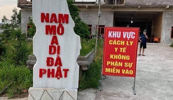 Sử dụng các chùa, cơ sở tự viện làm điểm cách ly cho người dân về từ vùng dịch