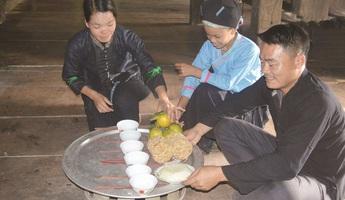 Tục mừng lúa mới của tộc Nùng và Bố Y ở Hoàng Su Phì