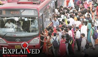 Xe bus Delhi