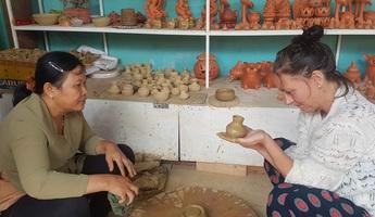 Làng Thanh Hà lưu giữ cách làm gốm truyền thống hơn 500 năm
