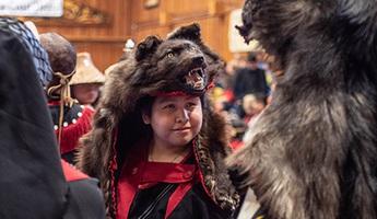 Talhtan, bộ tộc tôn thờ thần Mặt Trời ở Canada