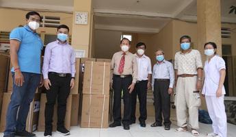 Hội thánh Tin Lành Việt Nam tặng 50 máy thở cho bệnh viện dã chiến