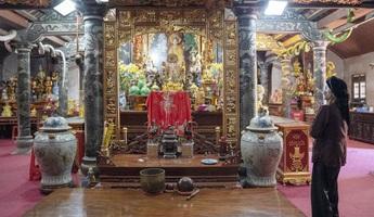Đền Tiên La - nơi bảo tồn, thực hành Tín ngưỡng Thờ Mẫu Tam phủ của người Việt