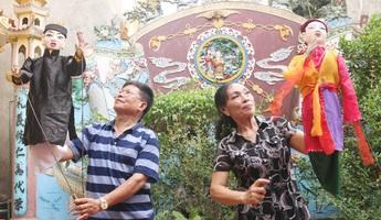 Gần 20 năm tâm huyết phục hưng rối cạn Lộc Hòe