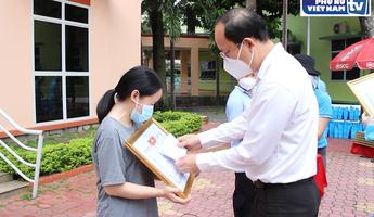 Biểu dương 91 tình nguyện viên các tôn giáo tham gia hỗ trợ bệnh viện điều trị Covid-19 ở TPHCM
