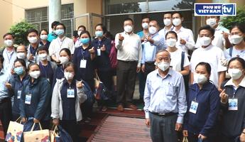 TPHCM: Xuất quân đợt 6 của chức sắc, tín đồ tôn giáo tình nguyện phục vụ tại các bệnh viện điều trị Covid-19