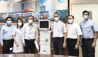 Giáo phận Xuân Lộc trao tặng 6 máy thở cho các bệnh viện ở Đồng Nai