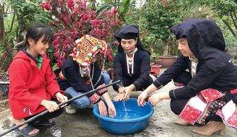 Phú Thọ: Trên 92% hộ đồng bào dân tộc thiểu số sử dụng nước sinh hoạt hợp vệ sinh