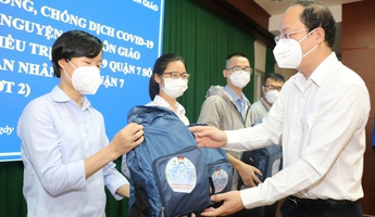 TPHCM: Hơn 100 tình nguyện viên tôn giáo tiếp tục tham gia tuyến đầu chống dịch Covid-19