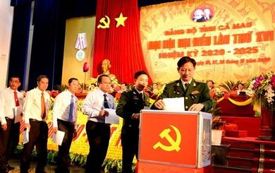 Tỷ lệ nữ trong Ban chấp hành Đảng bộ tỉnh Cà Mau là 10%, ông Nguyễn Tiến Hải tái đắc cử Bí thư Tỉnh ủy
