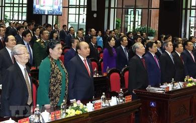 Thủ tướng Nguyễn Xuân Phúc dự Đại hội đại biểu Đảng bộ Khối các cơ quan Trung ương lần thứ XIII