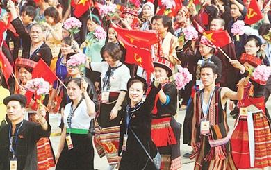 1.900 đại biểu tham dự Đại hội Đại biểu toàn quốc các dân tộc thiểu số Việt Nam lần thứ II năm 2020