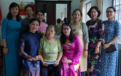 """TƯ Hội LHPN Việt Nam tổ chức hoạt động """"đền ơn đáp nghĩa"""" tại Côn Đảo"""