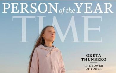 Time bình chọn cô bé 16 tuổi Greta Thunberg là nhân vật của năm 2019