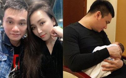 Khắc Việt đăng tải lời chúc tới con gái mới chào đời