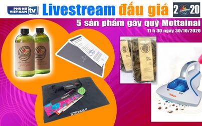 11h30 ngày 30/10: Livestream đấu giá 5 sản phẩm gây quỹ Mottainai 2020