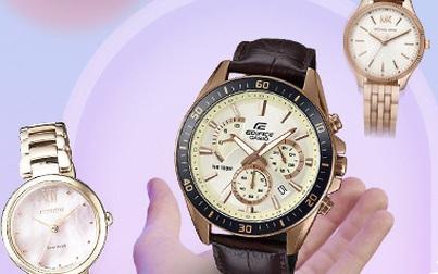 """""""Săn"""" đồng hồ đeo tay hàng hiệu giảm giá tới 50% trong Tháng khuyến mại"""