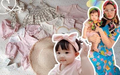 Con gái Đông Nhi chuẩn bị đón sinh nhật với váy áo phong cách giống mẹ