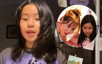Con gái Lưu Hương Giang 10 tuổi thuyết trình tiếng Anh như gió