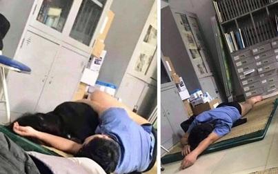 """Lập tổ xác minh bác sỹ bị tố """"ôm nữ sinh viên ngủ trong ca trực"""" ở Nghệ An"""