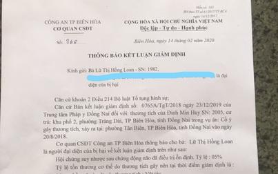 """Vụ hành hung trẻ em ở Đồng Nai: """"Vênh"""" kết luận giám định tỉ lệ tổn thương"""