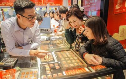 Giá vàng giảm hơn 1 triệu đồng sau khi lập đỉnh cao nhất 8 năm
