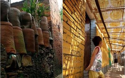 Kỳ diệu thay ngôi làng cổ độc đáo ở Việt Nam,  xây tường bằng tiểu sành, không cần vôi vữa