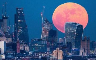 Chuẩn bị xuất hiện siêu trăng hồng lớn nhất năm 2020