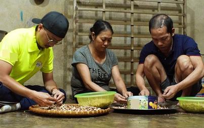 Lâm Vỹ Dạ cùng ông xã làm điều xúc động cho người vợ nghèo nuôi chồng và 5 đứa con