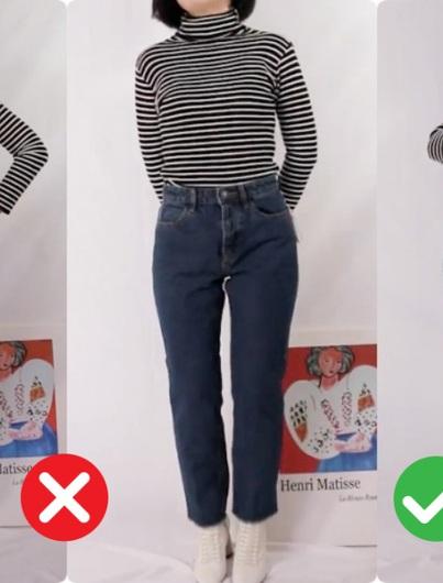 """Những kiểu quần jeans nịnh dáng cho các nàng chân """"cột đình"""""""