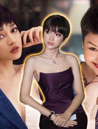 Không phải cứ cắt tóc là xinh, hội mỹ nhân Việt có lúc để tóc ngắn lại già hơn hẳn