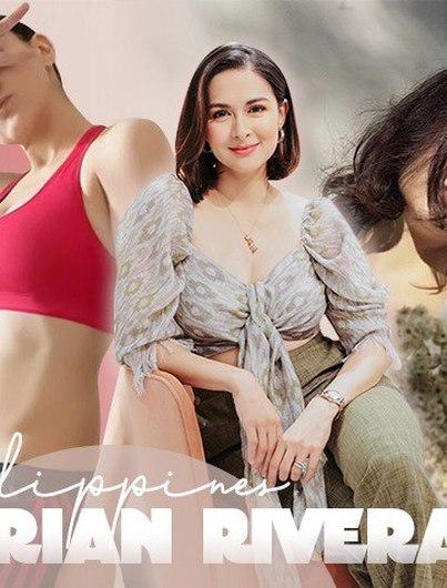 Không hổ danh là mỹ nhân đẹp nhất Philippines, mẹ 2 con Marian đẹp hoàn hảo