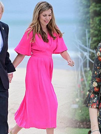 Tiết kiệm như Phu nhân ThủTướng Anh: Thuê toàn bộ váy đầm dự hội nghị, có bộgiá chỉvài trăm nghìn