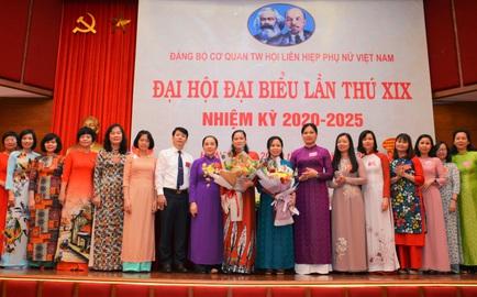 Đại hội đại biểu Đảng bộ cơ quan TƯ Hội LHPNVN lần thứ XIX thành công tốt đẹp