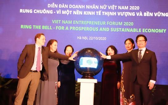 Doanh nhân nữ góp phần xây dựng nền kinh tế thịnh vượng và bền vững