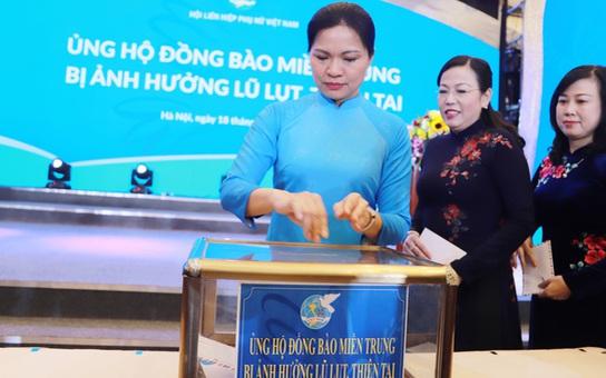 Chủ tịch Hội LHPN Việt Nam gửi thư thăm hỏi hội viên, phụ nữ miền Trung bị ảnh hưởng bởi thiên tai